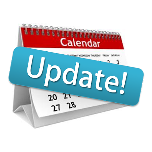For more information regarding our calendar updates please click here.