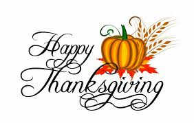 There will be no school 11/27-11/29 for Thanksgiving Break.