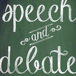 Join Speech & Debate...