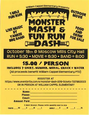 WCE Monster Mash Event
