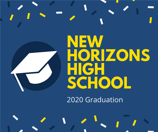 New Horizons High School Graduation Update